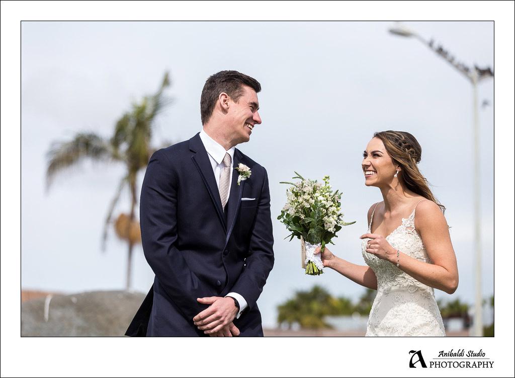 San Diego Wedding  Hyatt Mission Beach
