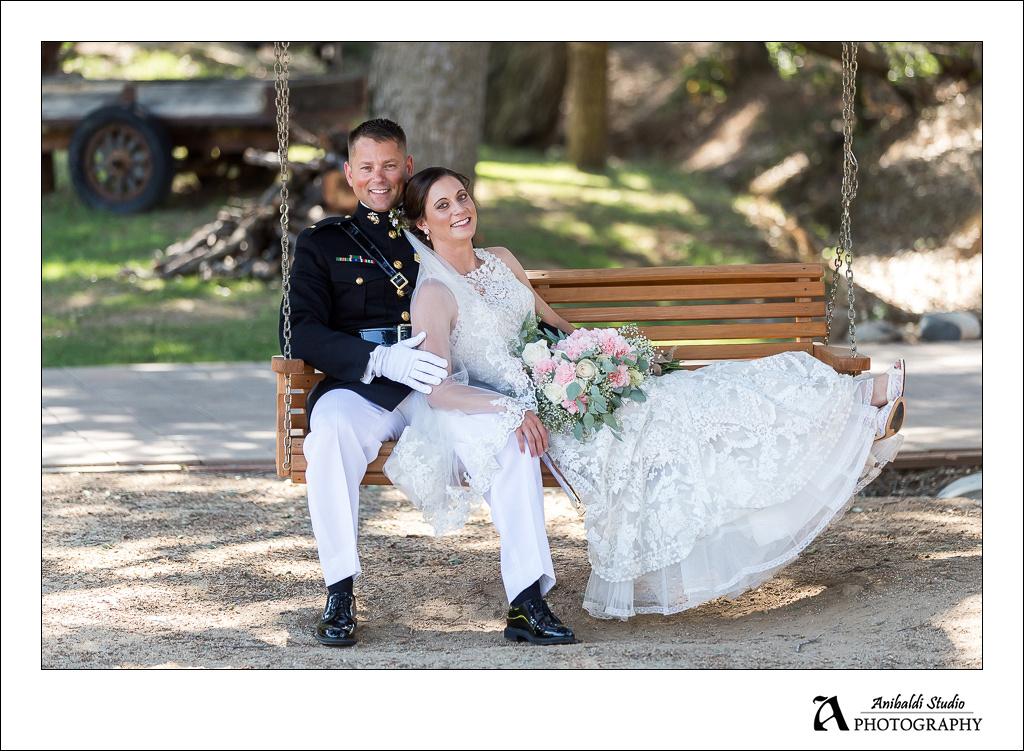 Wedding Photo Circle Oak Ranch