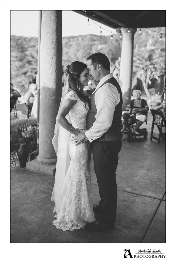 Summer wedding in temecula wine country