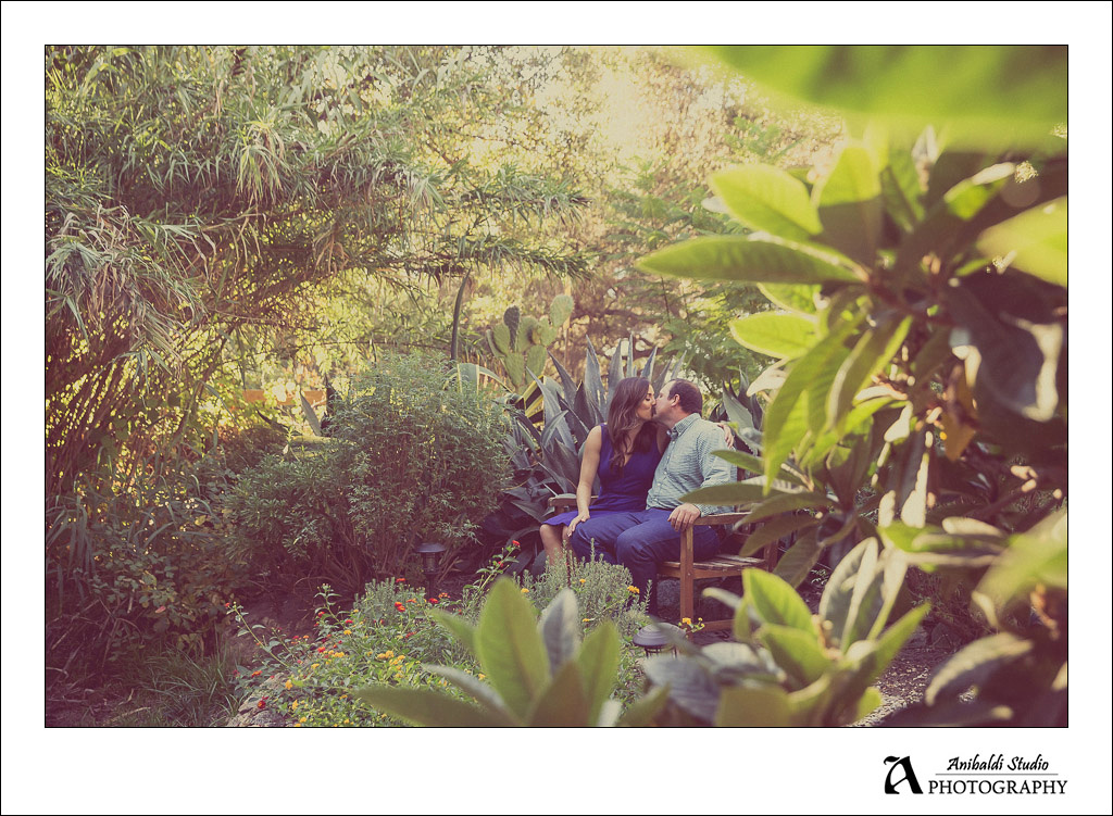 valley center engagement photo at yellow deli